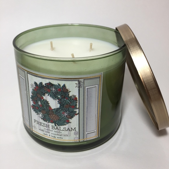 FRESH BALSAM 3 Wick Candle
